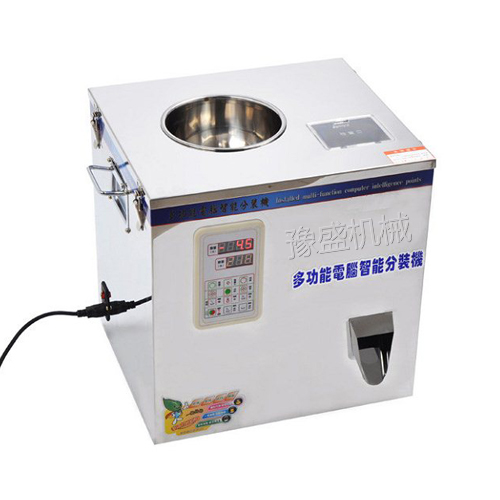 1-25g螺旋式茶叶计量分装机